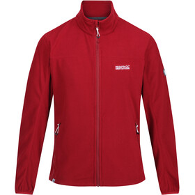 Regatta Stanner Fleece Jas Heren, delhi red
